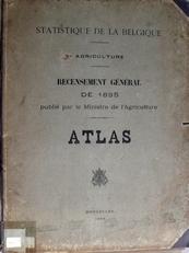 Statistique de la Belgique - agriculture - 1895