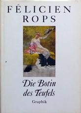 Felicien Rops,Die Botin des Teufels.