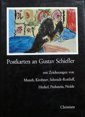 Postkarten an Gustav Schiefler.