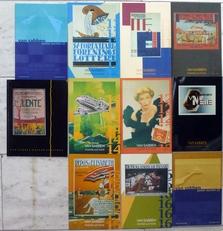 Van Sabben poster auctions. 11 catalogi.