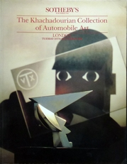 The  Khachadourian Collection of Automobile Art.