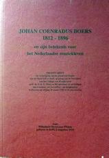 Johan Coenradus Boers 1812-1896.