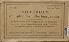 Rotterdam in tijden van oorlogsgevaar 1914.