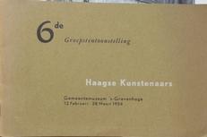 Haagse Kunstenaars .Groepstentoonstelling 1954.