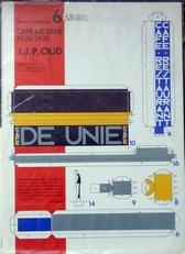 Architectuurmodellen.Cafe de Unie 1924/1925.