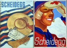 Scheidegg,The scheidegg hotels and one more..(2 brochures).