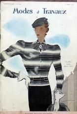 Modes et Travaux. 1936.