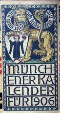 Munchener kalender fur 1906.