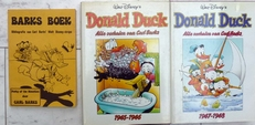 Donald Duck,1945-1946 and 1947-1948.(2 boeken + 1))