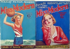 Miss Modern,female fashion magazin.2x (1931 & 1932).
