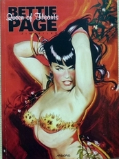 Bettie Page. Queen of Hearts.