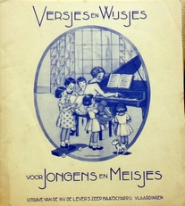 Versjes en Wijsjes voor jongens en meisjes.