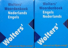 Wolters' woordenboek Nederlands- Engels. Engels -Nederlands.