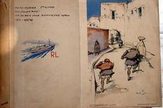 Menu kopieen Rotterdamsche Lloyd 1948