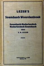 Lezer's Soendasch woordenboek.