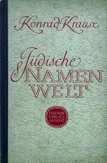 Die Judische Namenwelt.