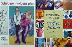Schilderen volgens plan en de finishing touch.2 delen.