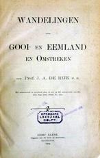 Wandelingen door Gooi- en Eemland en omstreken.