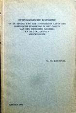 Ethnologische economie.Proefschrift.