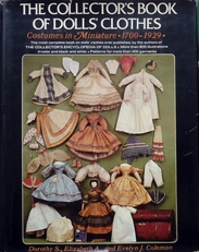 The collector's book of Dolls Clothes.