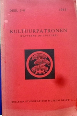 Kultuurpatronen.Patterns of culture deel 5 - 6.