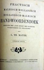 Practisch Maleisch-Holl. en Hol. Maleisch Handwoordenboek.