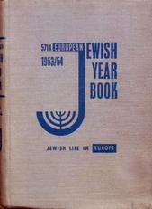 European Jewish Year Book 5714 (1953 /54).