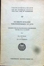 De eerste moslimse vorstendommen op Java.