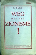 Weg met het Zionisme.