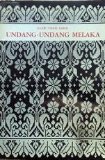 Udang-Udang Melaka. Laws of Malakka.