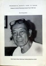 Pramoedya Ananta Toer 70 tahun.