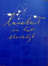 Lucebert in het Stedelijk.