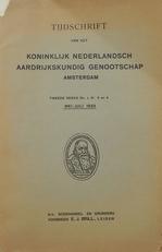 Tijdschrift van het Ned. Kon. Aardrijksk. Genootschap 1933