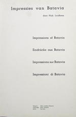 Impressies van batavia.