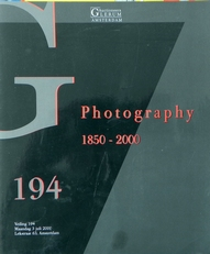 Photography 1850-2000