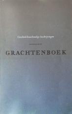 Grachtenboek.(Geschied-bouwkundige beschrijvingen).