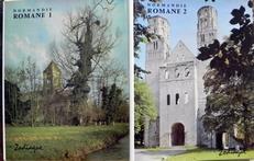 Normandie Romane. La basse-Normandie et la haute-Normandie.