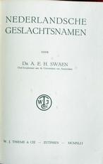 Nederlandsche geslachtsnamen.