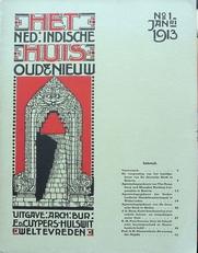 Het Nederlandsch-Indische huis.Oud en Nieuw.no. 1 jan.1913.