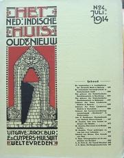het Nederlandsch-Indische huis. Oud & Nieuw.No 4. Juli,1914.