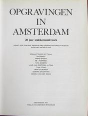 Opgravingen in Amsterdam.