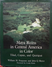 Maya ruins in Central America in Color.