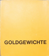 Goldgewichte Aus Ghana.text in German and English.