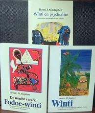Winti,Fodoe-winti en Winti en de psychiatrie.3 boeken.