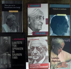 Krishnamurti - 6 boeken -