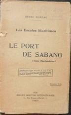 Le port de Sabang.