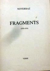 Fragments ( 1936-1950).