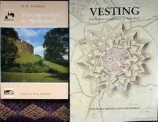 Vesting,vier eeuwen etc. en Vestingwerken in Nederland.2 x