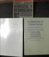 3 boeken over Willem Frederik Hermans.
