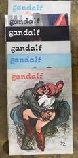 Gandalf Nrs. 29 & 30 (1968),32,33,34 (1969) en nr. 44 (1970)
